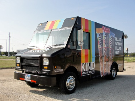 kind healthy snacks truck